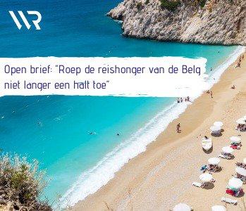 """Reissector wil snel concreet plan voor zomervakantie: """"Roep de reishonger van de Belg niet langer een halt toe"""""""