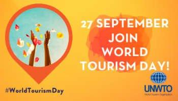 Neem deel aan World Tourism Day op 27 september